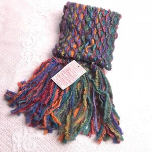 Urban Outfitters Scarf Multicolored Wool Blend
